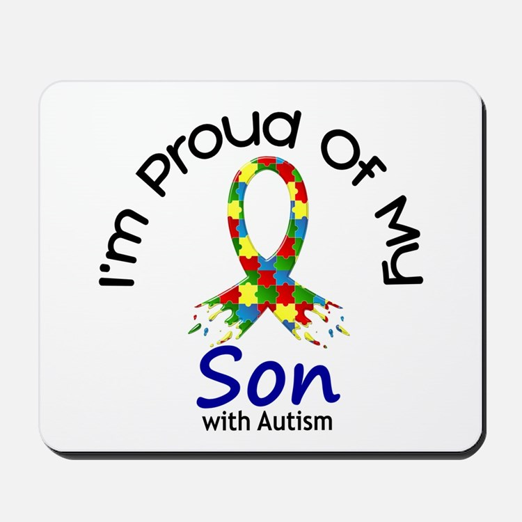 Proud Of My Autistic Son 1 Mousepad