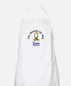 Proud Of My Autistic Son 1 BBQ Apron