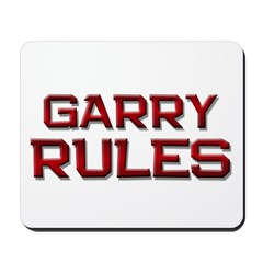 garry rules Mousepad