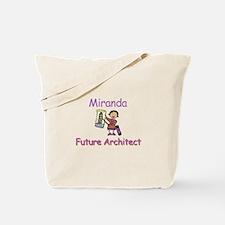 Miranda - Future Architect Tote Bag