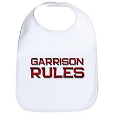 garrison rules Bib