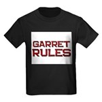 garret rules Kids Dark T-Shirt