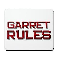 garret rules Mousepad