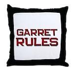 garret rules Throw Pillow