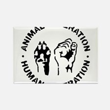 Unique Animal rights Rectangle Magnet