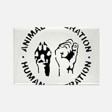 Unique Animal liberation front Rectangle Magnet