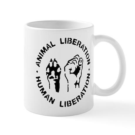 animal liberation2 Mugs