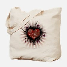 Death Heart Tote Bag