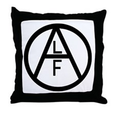 Funny Animal liberation front Throw Pillow