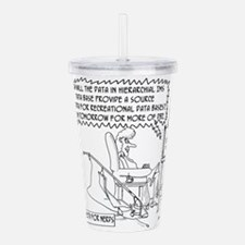 Reality TV Cartoon 145 Acrylic Double-wall Tumbler