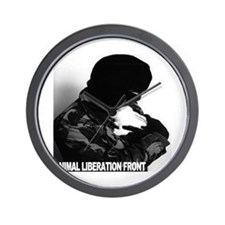 Cool Animal liberation front Wall Clock