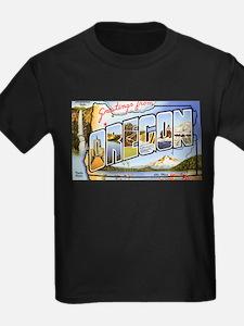 Oregon Greetings Ash Grey T-Shirt