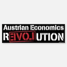 Austrian Economics Revolution Bumper Bumper Bumper Sticker