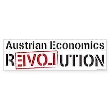 Austrian Economics Revolution Bumper Bumper Sticker