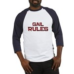 gail rules Baseball Jersey