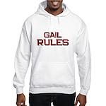 gail rules Hooded Sweatshirt