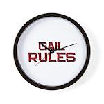 gail rules Wall Clock