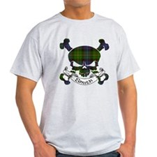 Smith Tartan Skull T-Shirt