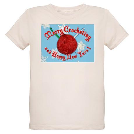 Merry Crocheting Organic Kids T-Shirt