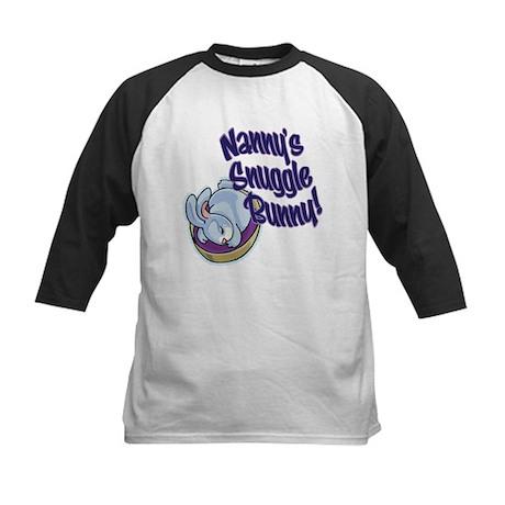NANNY'S SNUGGLE BUNNY! Kids Baseball Jersey