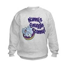 NANNY'S SNUGGLE BUNNY! Sweatshirt