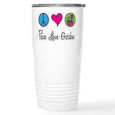 Peace Love Garden Travel Mug