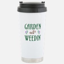Garden of Weedin' Thermos Mug