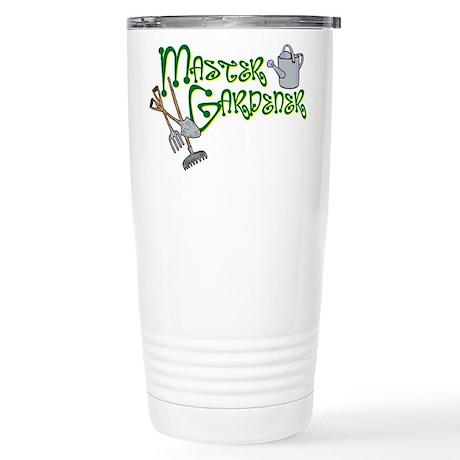 Master Gardener Stainless Steel Travel Mug