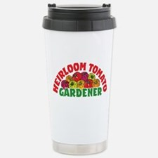Heirloom Tomato Stainless Steel Travel Mug