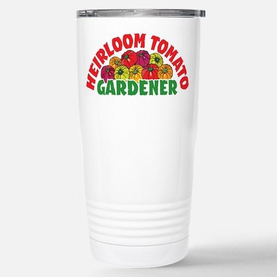 Heirloom Tomato Stainless Steel Travel Mug
