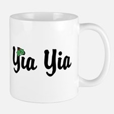 Yia Yia Holiday Holly Mug