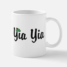 Yia Yia Holiday Holly Small Mugs