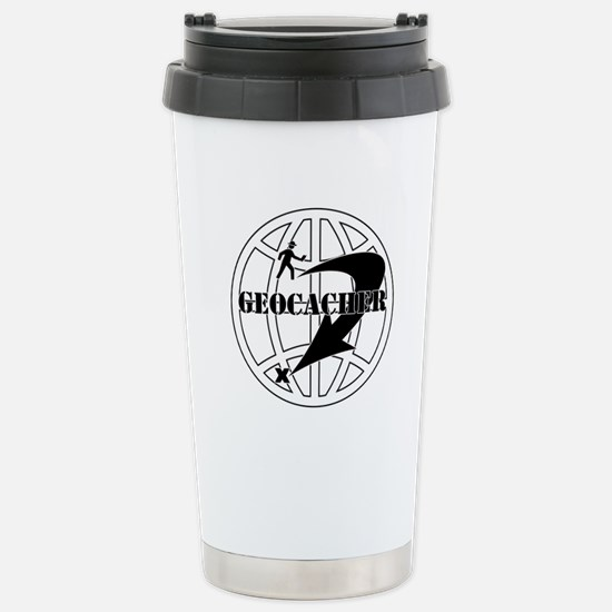 Global Geocaching Stainless Steel Travel Mug