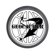 Global Geocaching Wall Clock