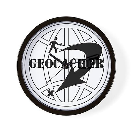 Global Geocaching Wall Clock