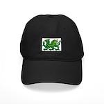 Midrealm Dragon Black Cap