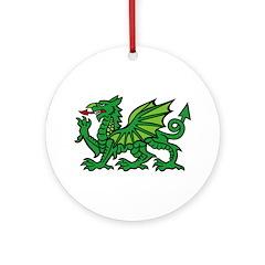 Midrealm Dragon Ornament (Round)