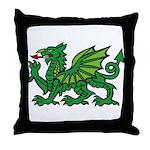 Midrealm Dragon Throw Pillow