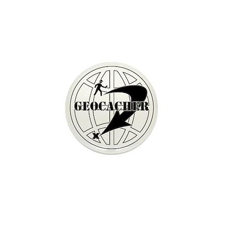 Global Geocaching Mini Button (10 pack)