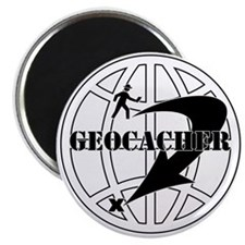 Global Geocaching Magnet