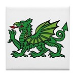 Midrealm Dragon Tile Coaster