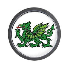 Midrealm Dragon Wall Clock
