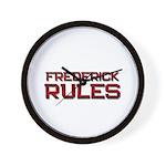 frederick rules Wall Clock