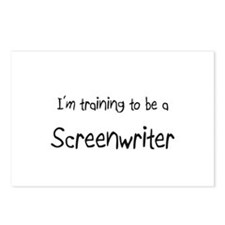 I'm training to be a Screenwriter Postcards (Packa