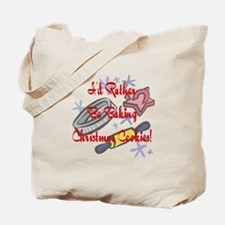 Rather Bake Christmas Tote Bag