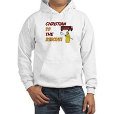 Christian to the Rescue Hoodie