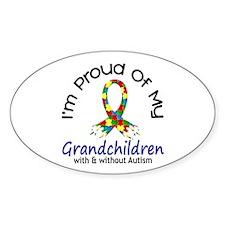 Proud Of My Autistic Grandchildren 1 Decal