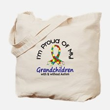 Proud Of My Autistic Grandchildren 1 Tote Bag