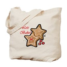 Lets Bake Christmas Tote Bag