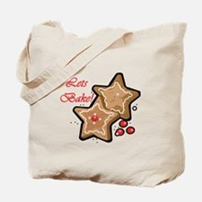 Lets Bake Christmas Tote Bag